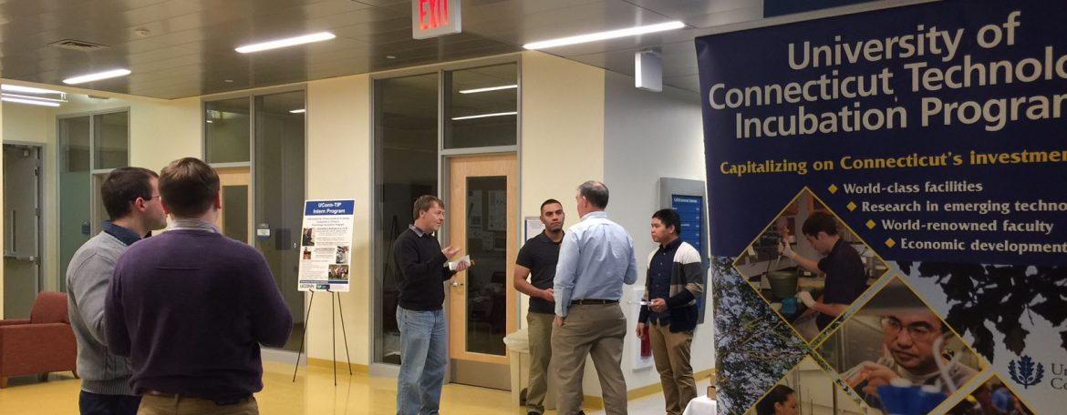UConn Technology Incubation Program (UConn-TIP) MCB PSM internship program event.